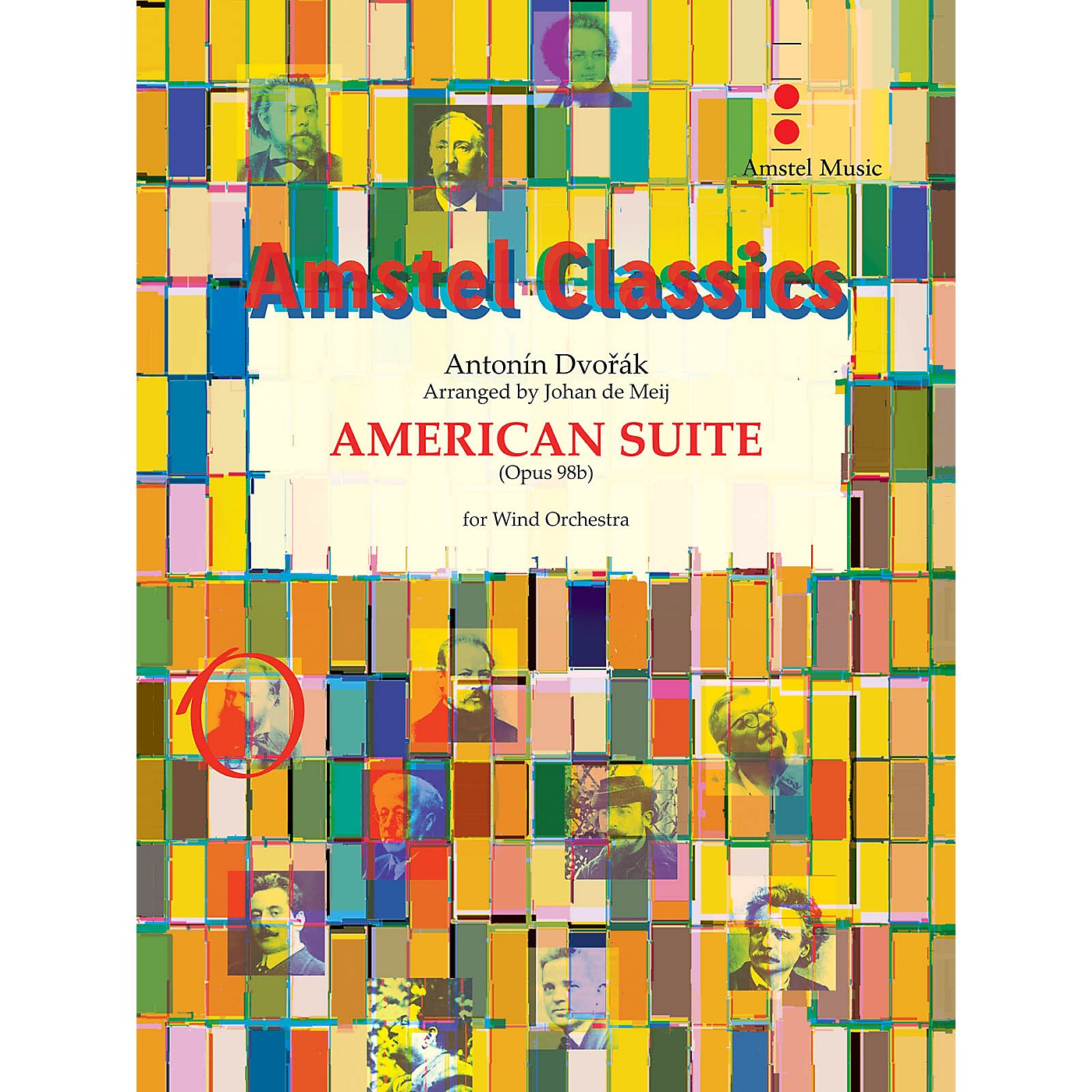 Amstel Music American Suite (for Wind Orchestra) Concert Band Level 4 Arranged by Johan de Meij thumbnail
