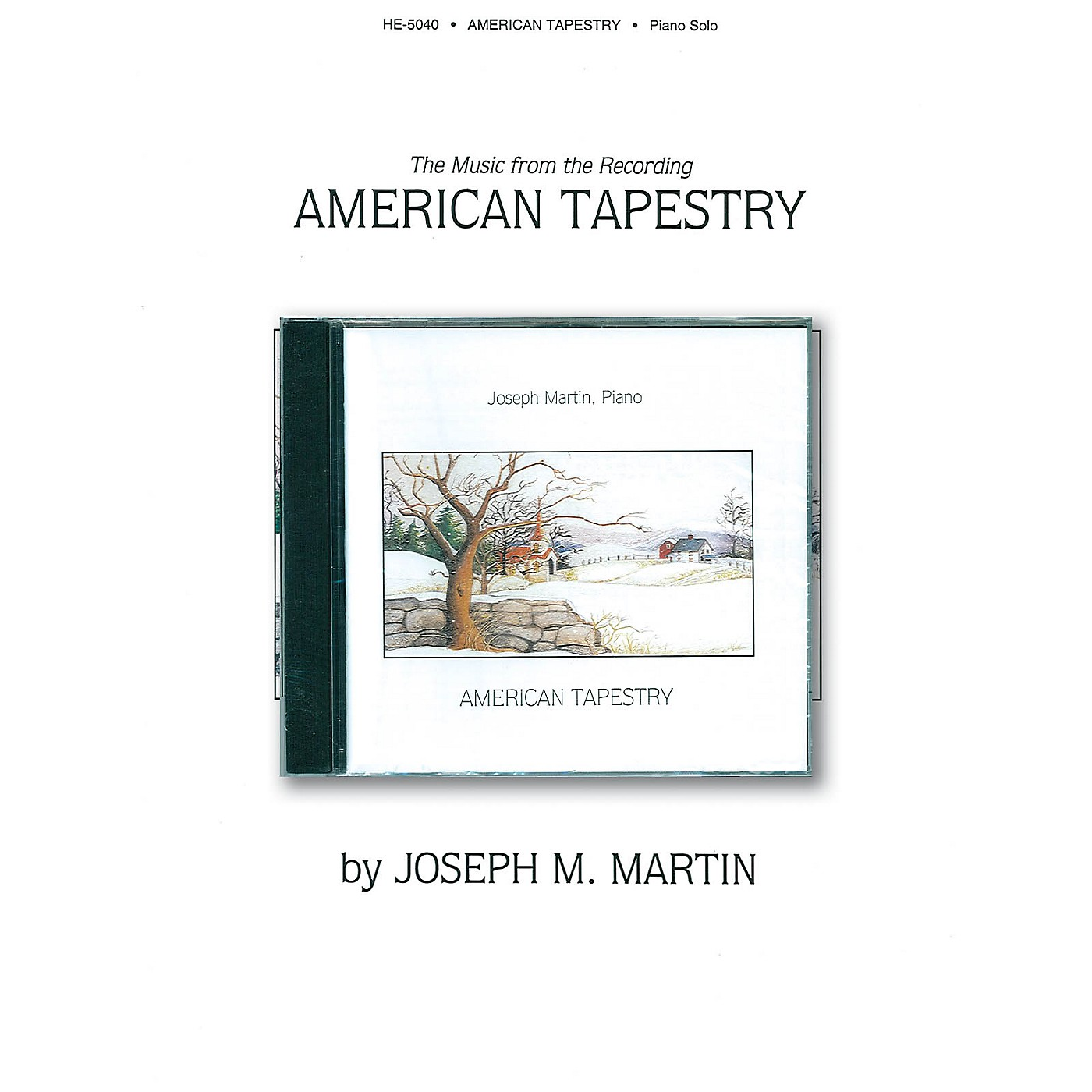 Shawnee Press American Tapestry Shawnee Press Series Softcover with CD Arranged by Joseph Martin thumbnail