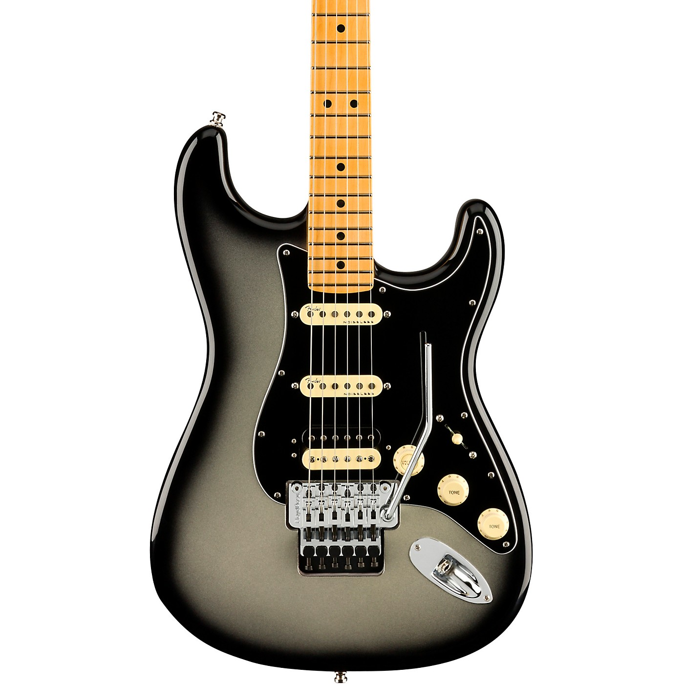 Fender American Ultra Luxe Stratocaster HSS Floyd Rose Maple Fingerboard Electric Guitar thumbnail