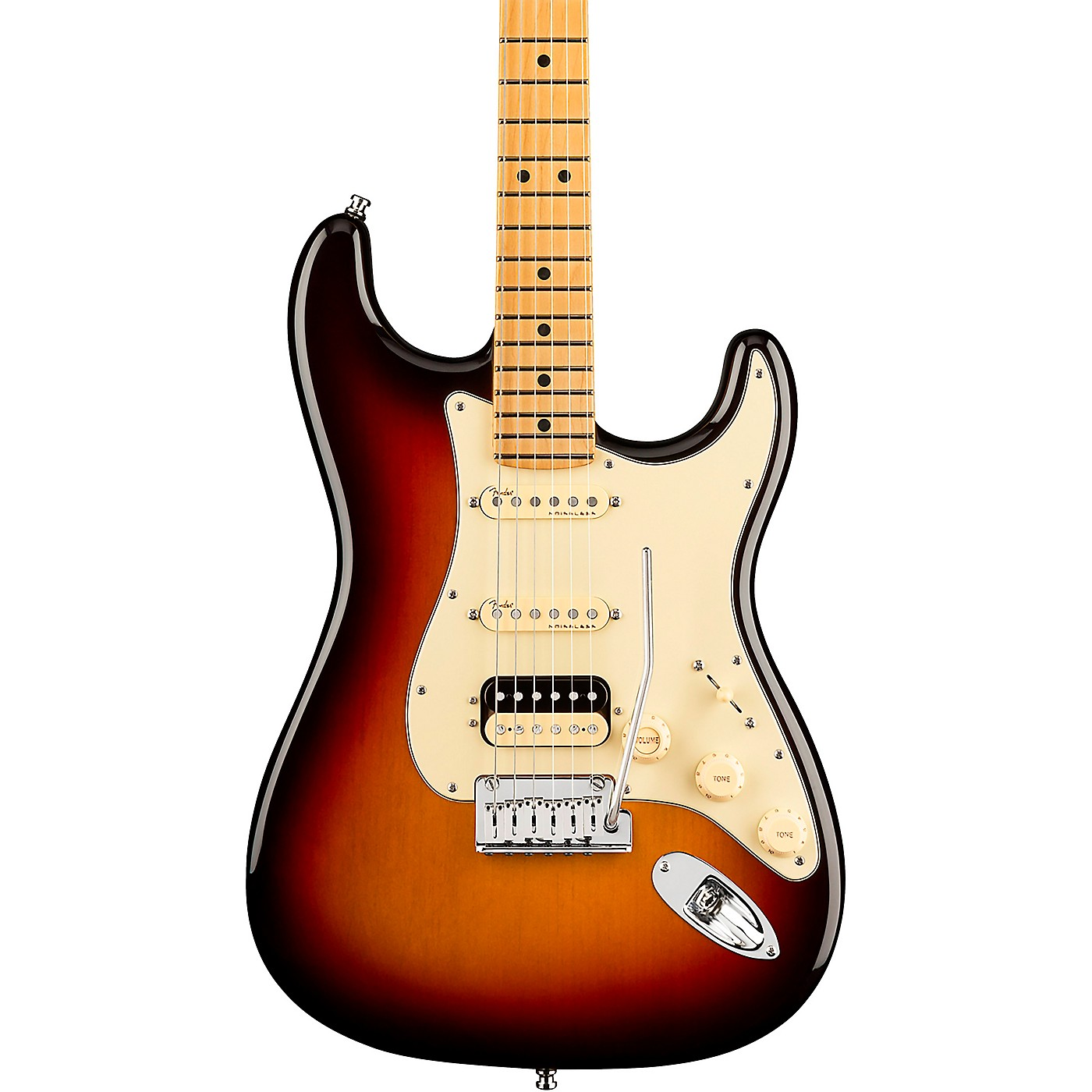Fender American Ultra Stratocaster HSS Maple Fingerboard Electric Guitar thumbnail