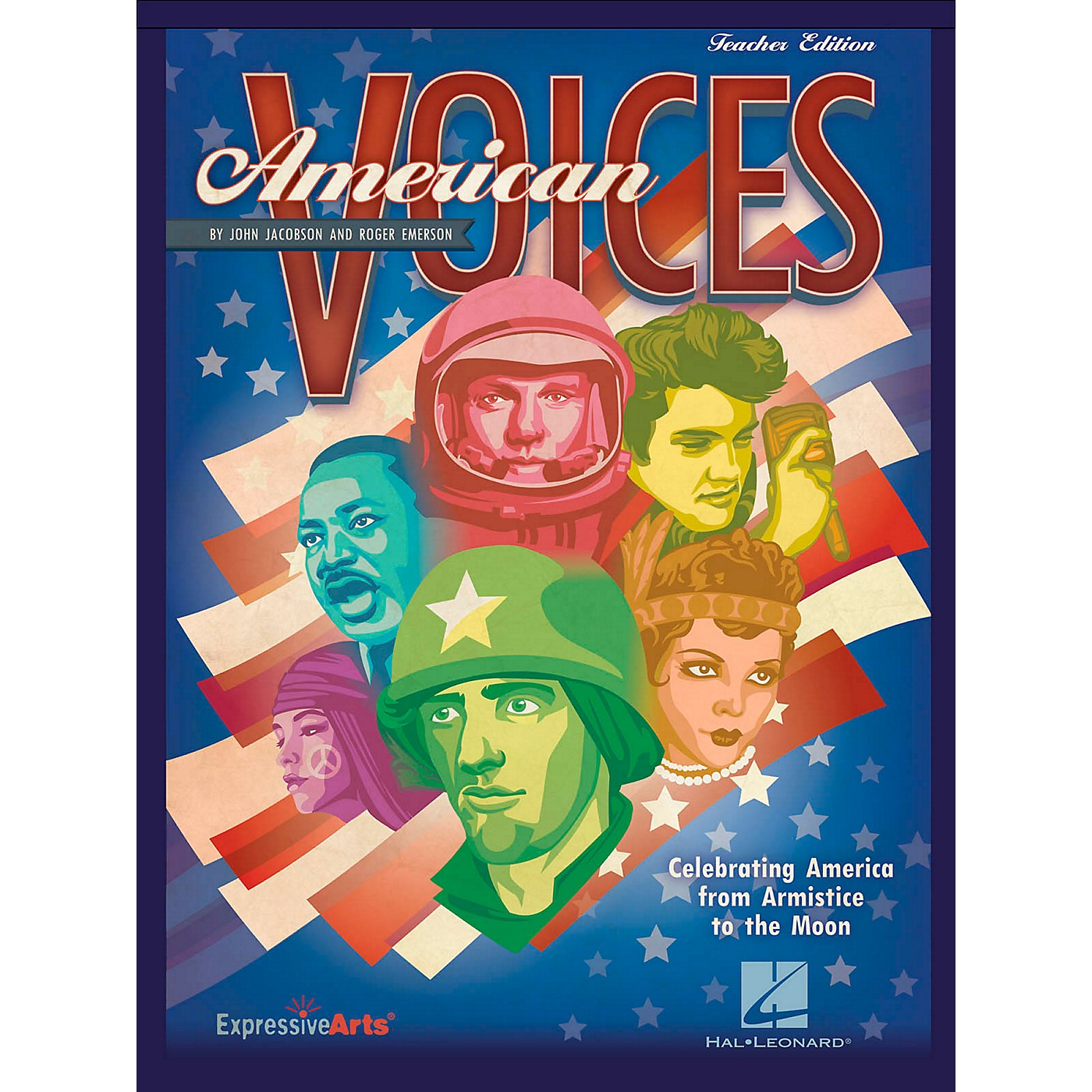 Hal Leonard American Voices Celebrating America from Armistice to the Moon - Student Edition 5-Pak thumbnail