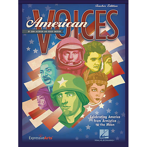 Hal Leonard American Voices (Celebrating America from Armistice to the Moon) Preview Pak Composed by John Jacobson thumbnail