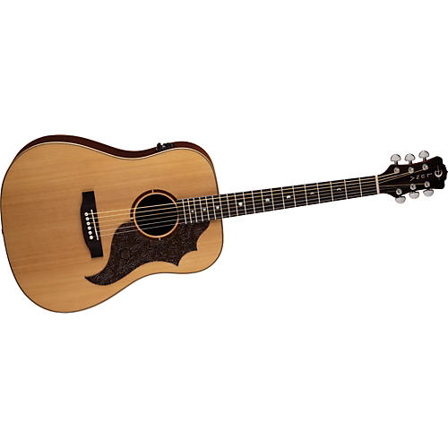 Luna Guitars Americana Acoustic-Electric Guitar (Leather P. Guard) thumbnail