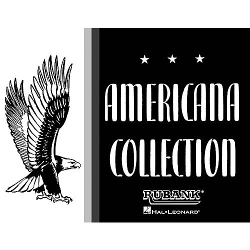 Rubank Publications Americana Collection for Band (2nd Alto Saxophone) Concert Band Composed by Various thumbnail