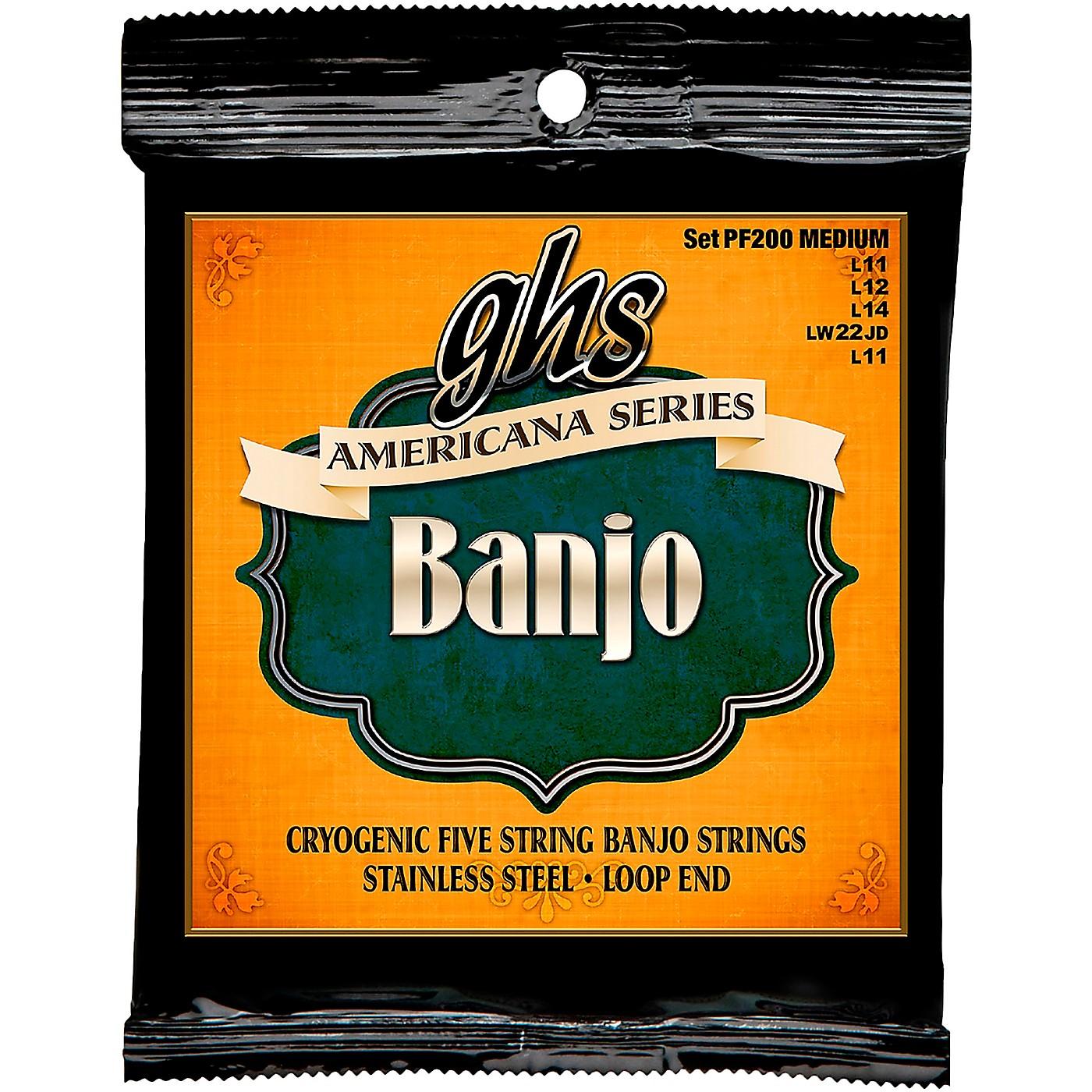 GHS Americana Medium Banjo Strings (11-LWJD-11) thumbnail
