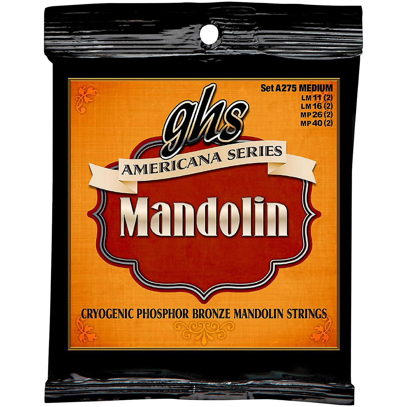 GHS Americana Medium Mandolin Strings (11-40) thumbnail