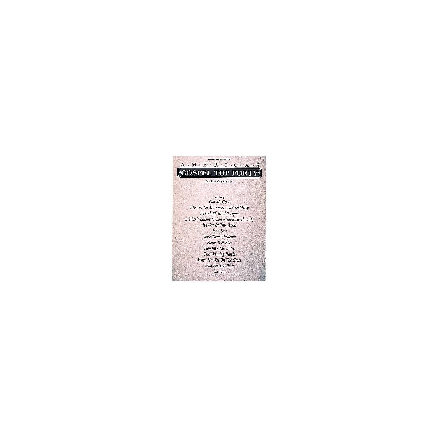 Hal Leonard America's Gospel Top Forty Piano/Vocal/Guitar Songbook thumbnail