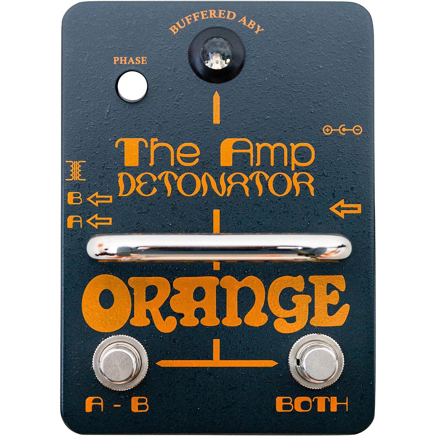 Orange Amplifiers Amp-Detonator ABY Amp Switcher Guitar Pedal thumbnail