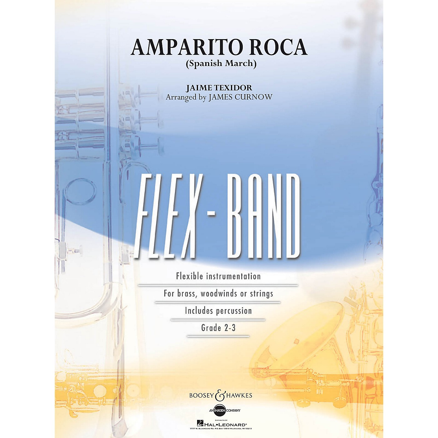 Boosey and Hawkes Amparito Roca (Spanish March) Concert Band Level 2-3 Arranged by James Curnow thumbnail
