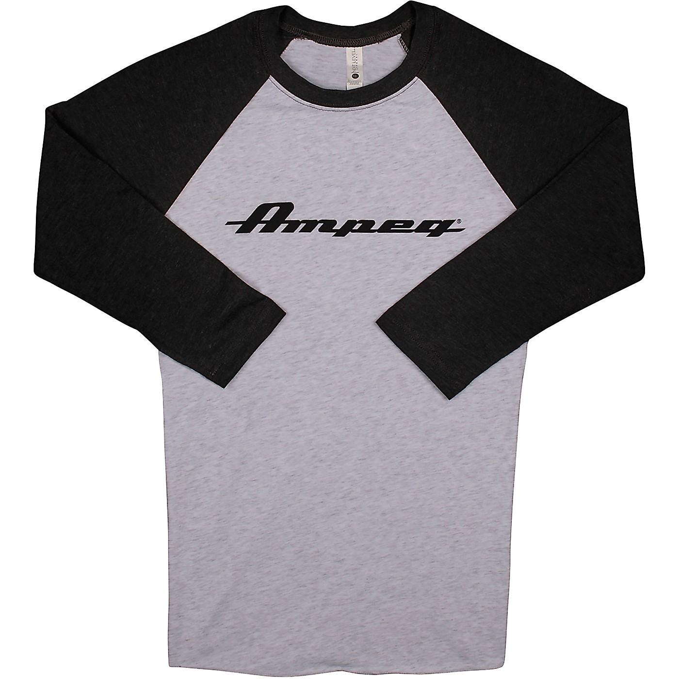 Ampeg Ampeg Raglan Black Sleeve Shirt - White thumbnail