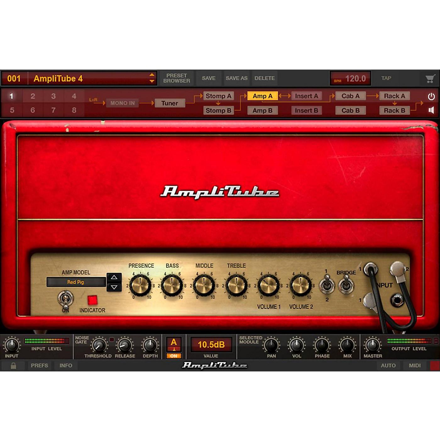 IK Multimedia AmpliTube 4 thumbnail