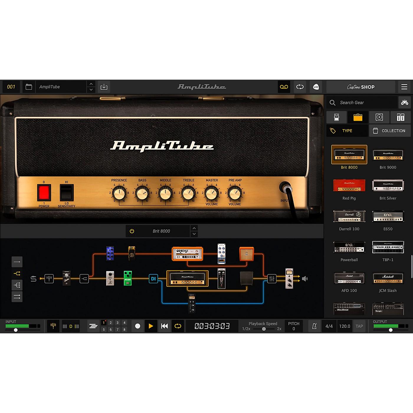 IK Multimedia AmpliTube 5 (Download) thumbnail
