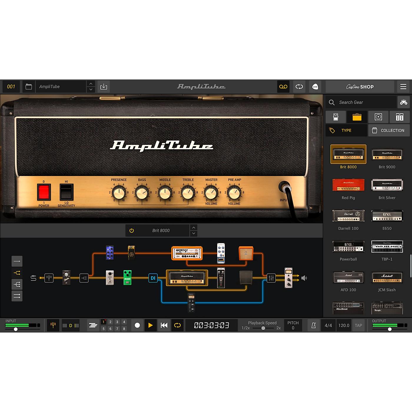 IK Multimedia AmpliTube 5 MAX (Download) thumbnail