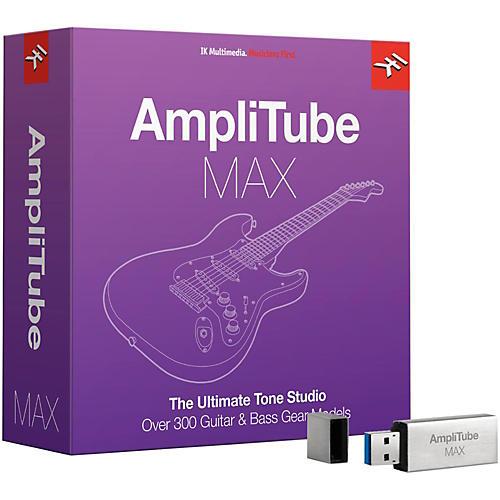 IK Multimedia AmpliTube MAX Upgrade thumbnail