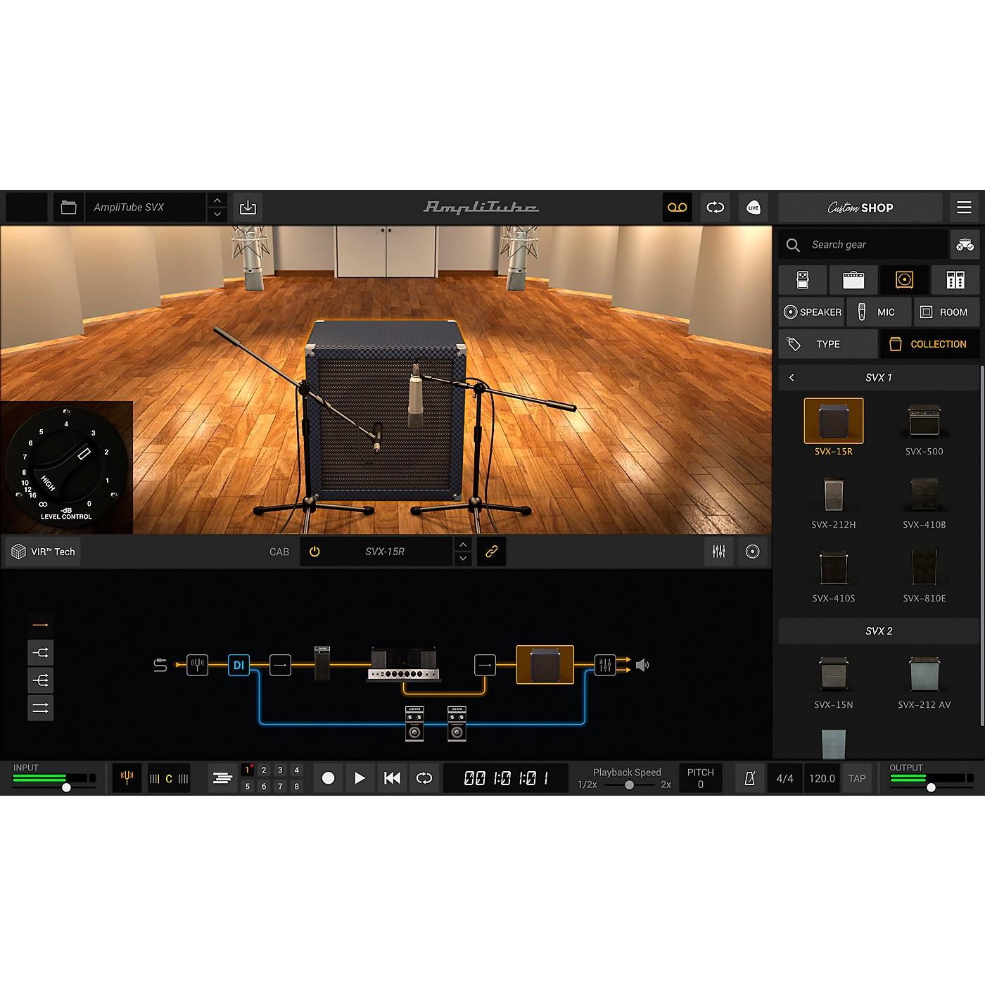 IK Multimedia AmpliTube SVX (Download) thumbnail