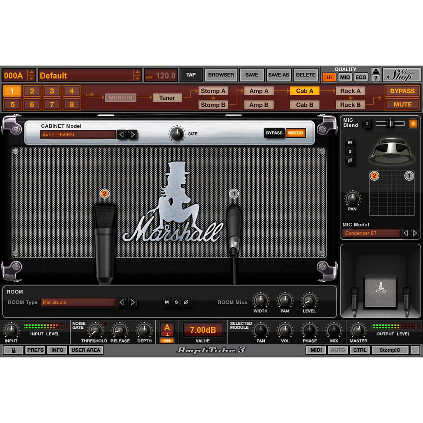 IK Multimedia AmpliTube Slash Software Download thumbnail