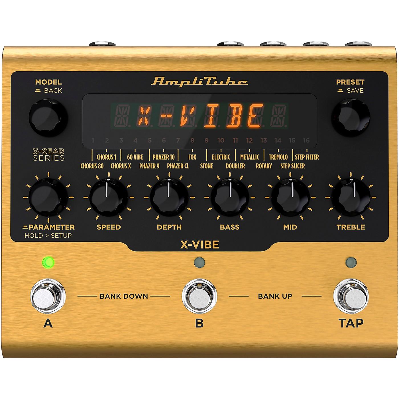 IK Multimedia AmpliTube X-VIBE Modulation Effects Pedal thumbnail