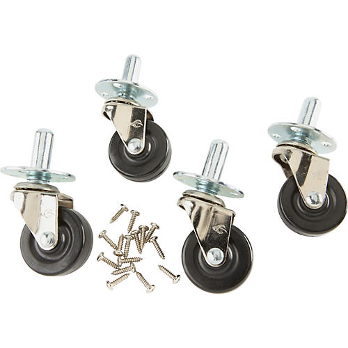 Fender Amplifier Casters with Hardware Set of 4 thumbnail