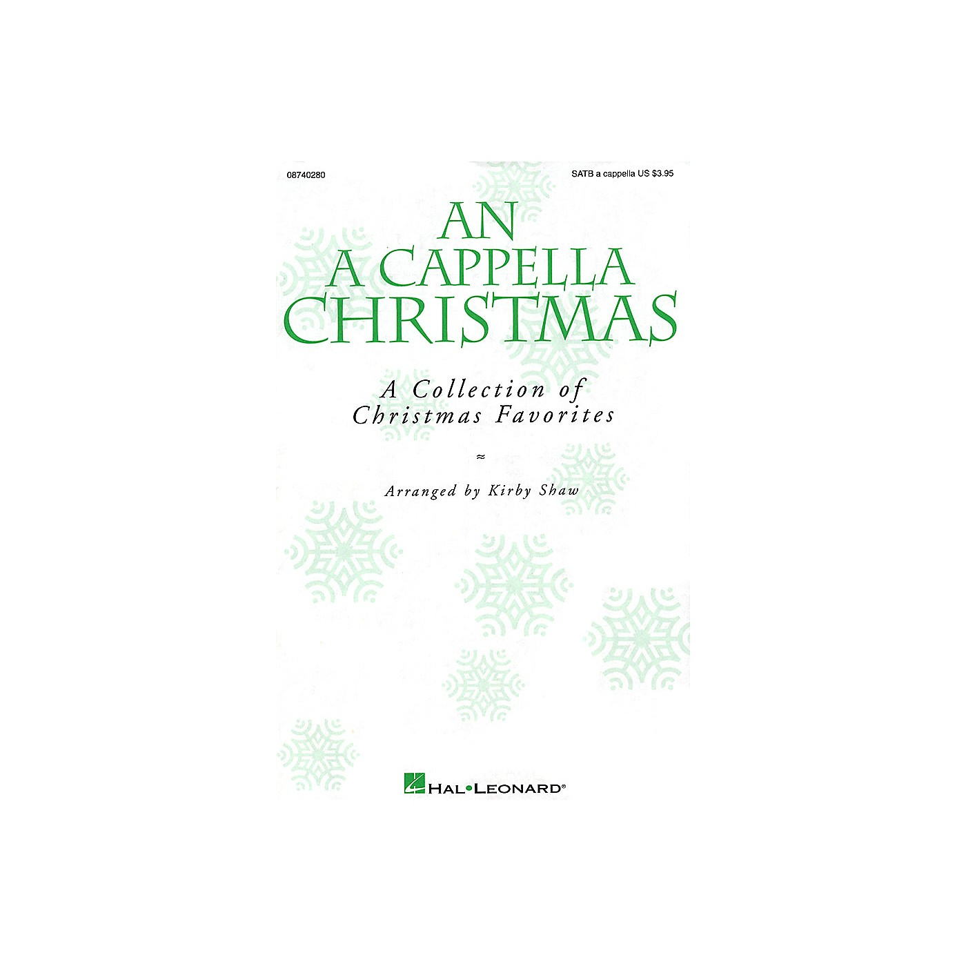Hal Leonard An A Cappella Christmas (Collection) SAB A Cappella Arranged by Kirby Shaw thumbnail