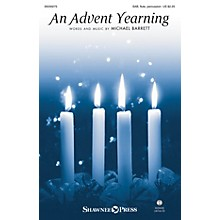 Shawnee Press An Advent Yearning SAB/FLUTE/CONGA composed by Michael Barrett