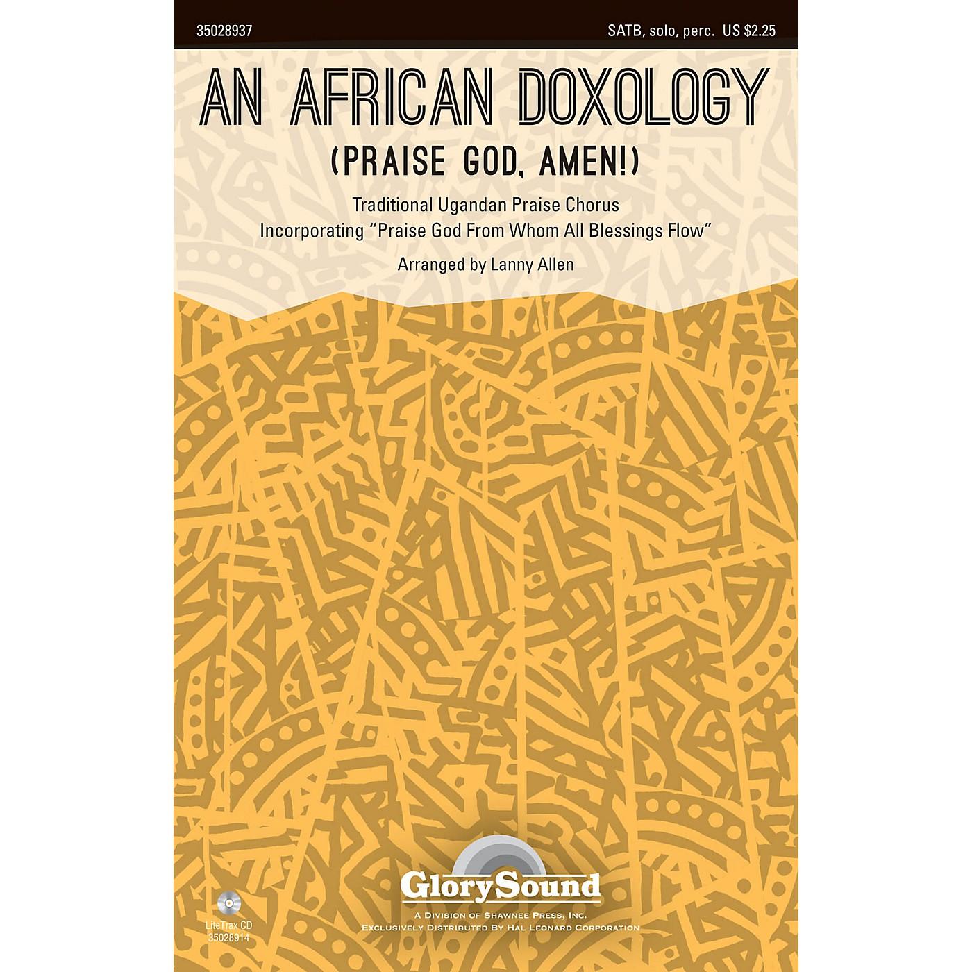 Shawnee Press An African Doxology (Praise God, Amen!) SATB arranged by Lanny Allen thumbnail