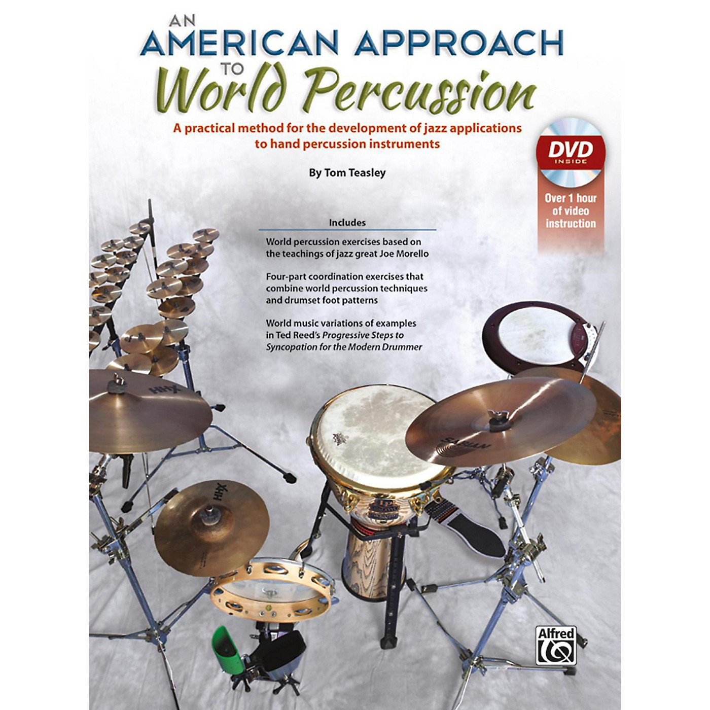 Alfred An American Approach to World Percussion Book & DVD thumbnail