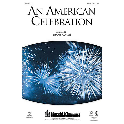 Shawnee Press An American Celebration SATB arranged by Brant Adams thumbnail