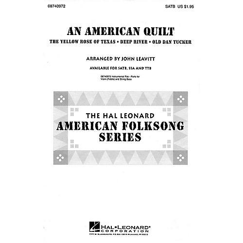 Hal Leonard An American Quilt (A Collection of 3 American Folksongs) TTB Arranged by John Leavitt thumbnail