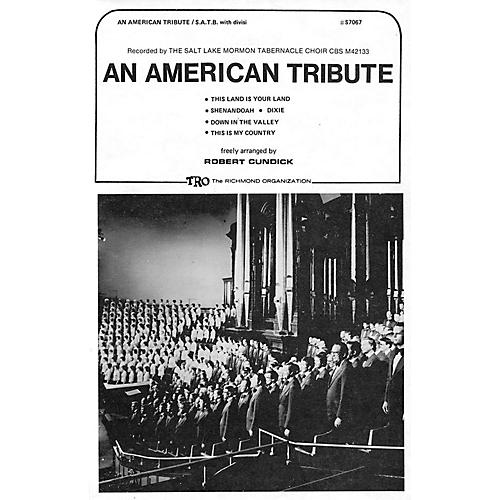 TRO ESSEX Music Group An American Tribute (Medley) (SATB divisi) SATB Divisi Arranged by Robert Cundick thumbnail