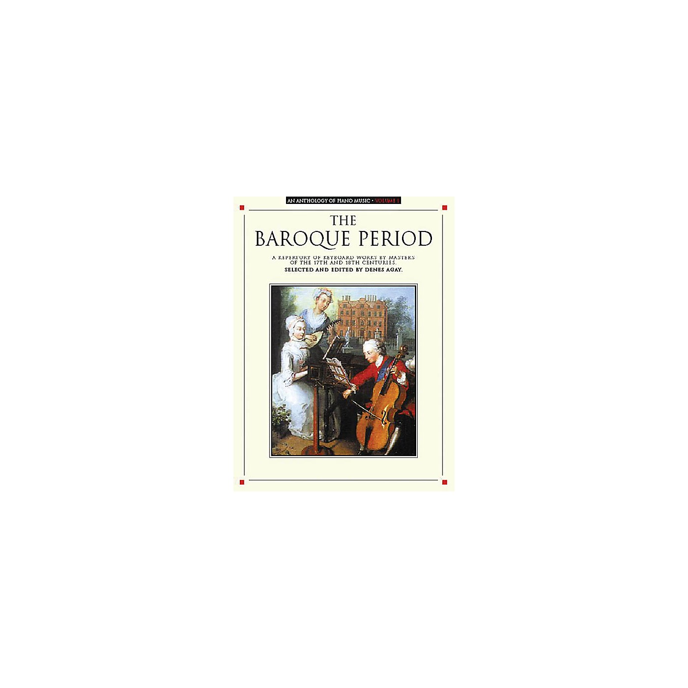 Music Sales An Anthology of Piano Music Volume 1: The Baroque Period Yorktown Series Softcover thumbnail
