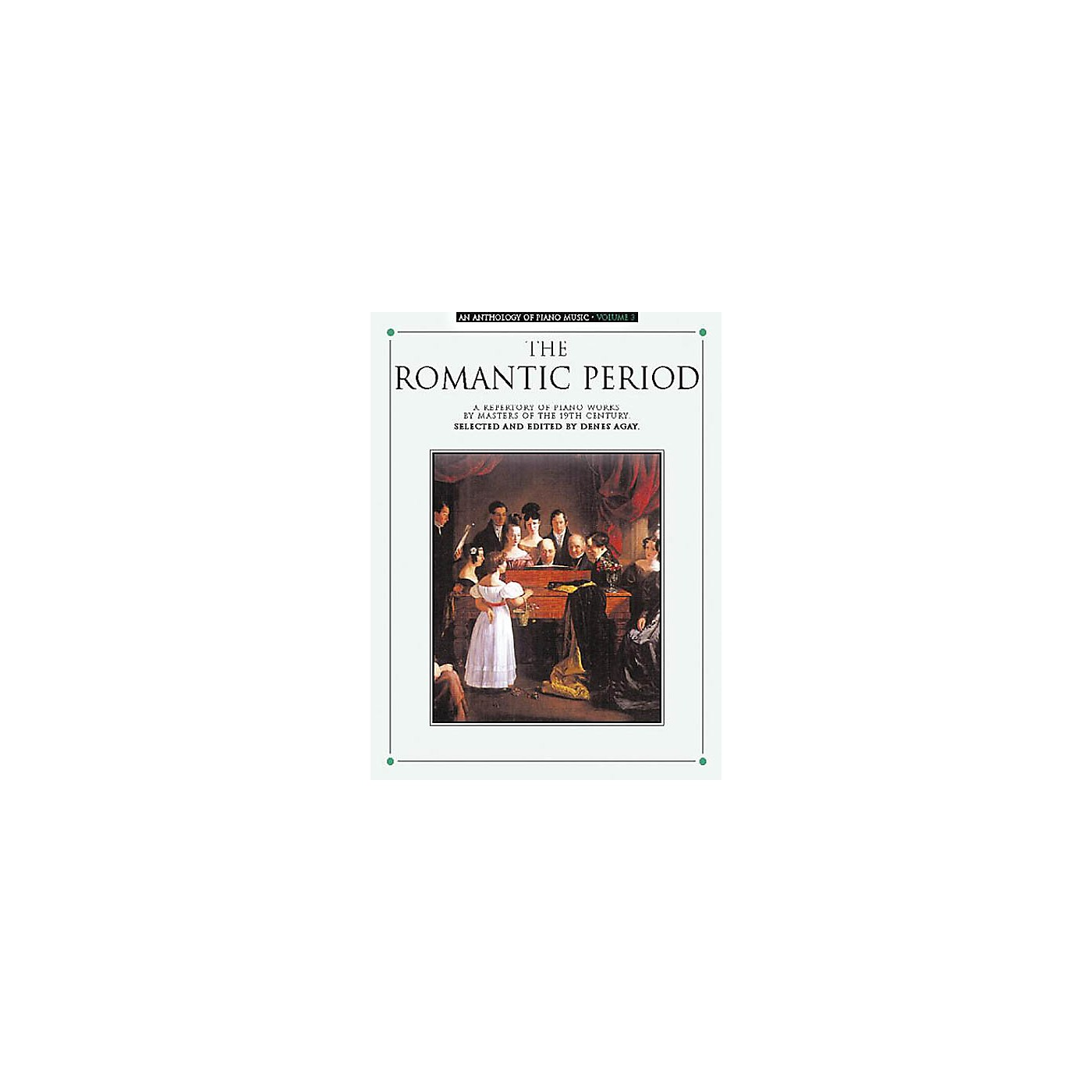 Music Sales An Anthology of Piano Music Volume 3: The Romantic Period Yorktown Series Softcover thumbnail