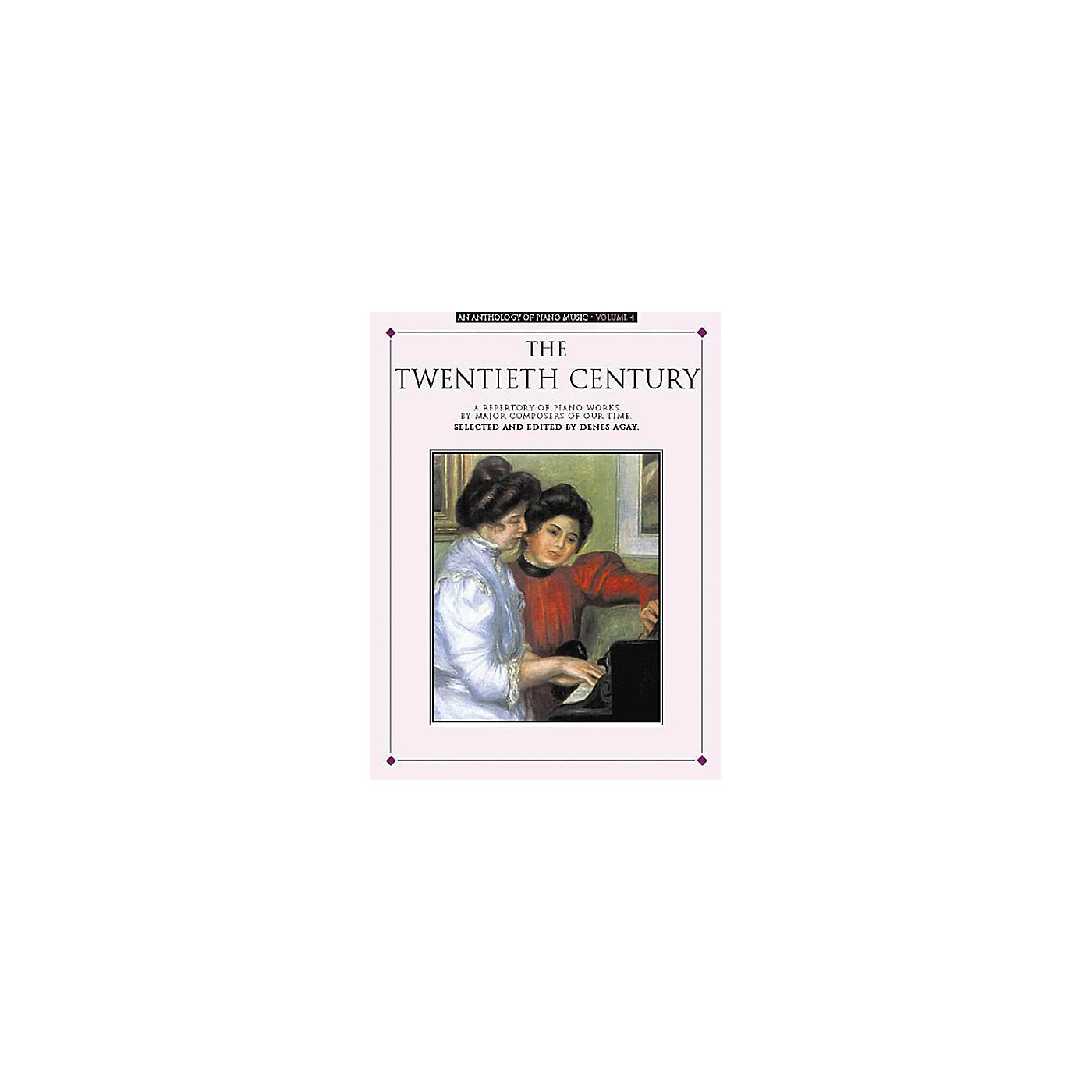 Music Sales An Anthology of Piano Music Volume 4: The Twentieth Century Yorktown Series Softcover thumbnail