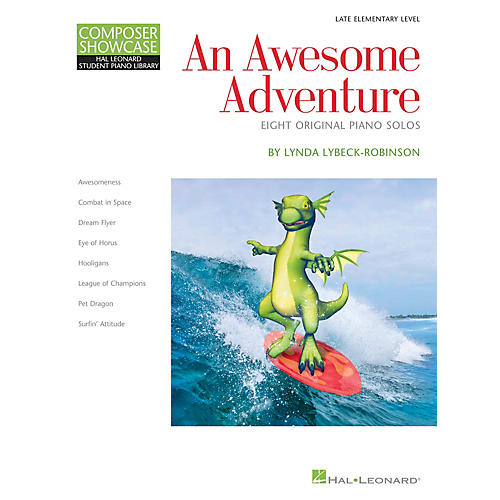 Hal Leonard An Awesome Adventure Piano Library Series Book by Lynda Lybeck-Robinson (Level Book 3) thumbnail