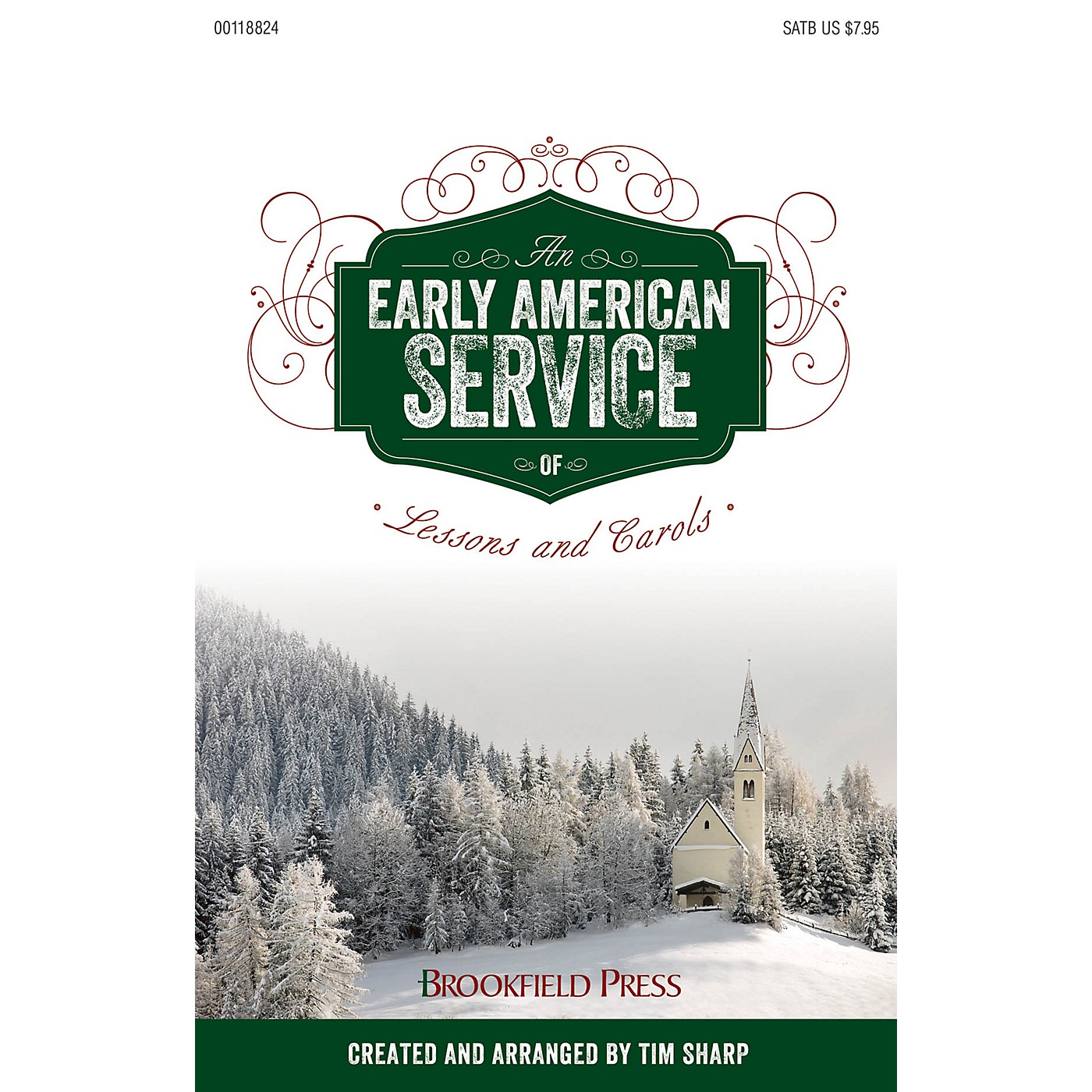 Brookfield An Early American Service of Lessons and Carols PREV CD Arranged by Tim Sharp thumbnail