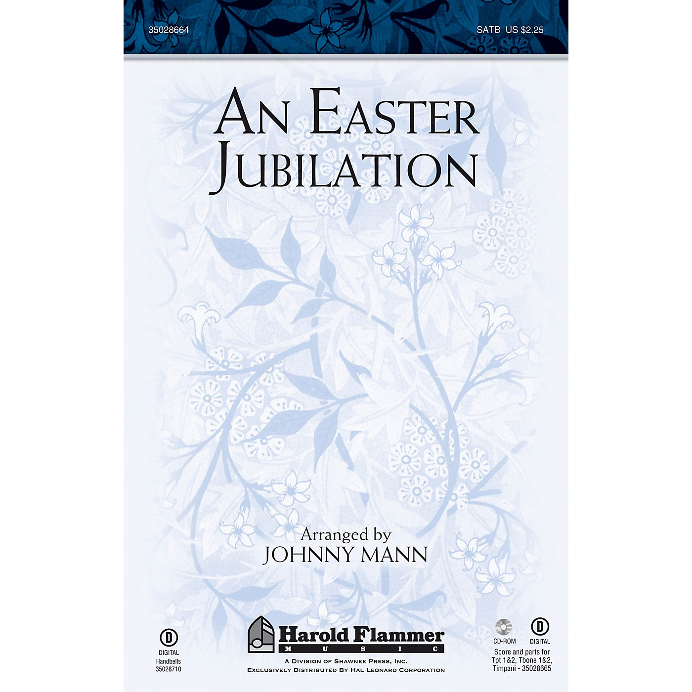 Shawnee Press An Easter Jubilation SATB arranged by Johnny Mann thumbnail