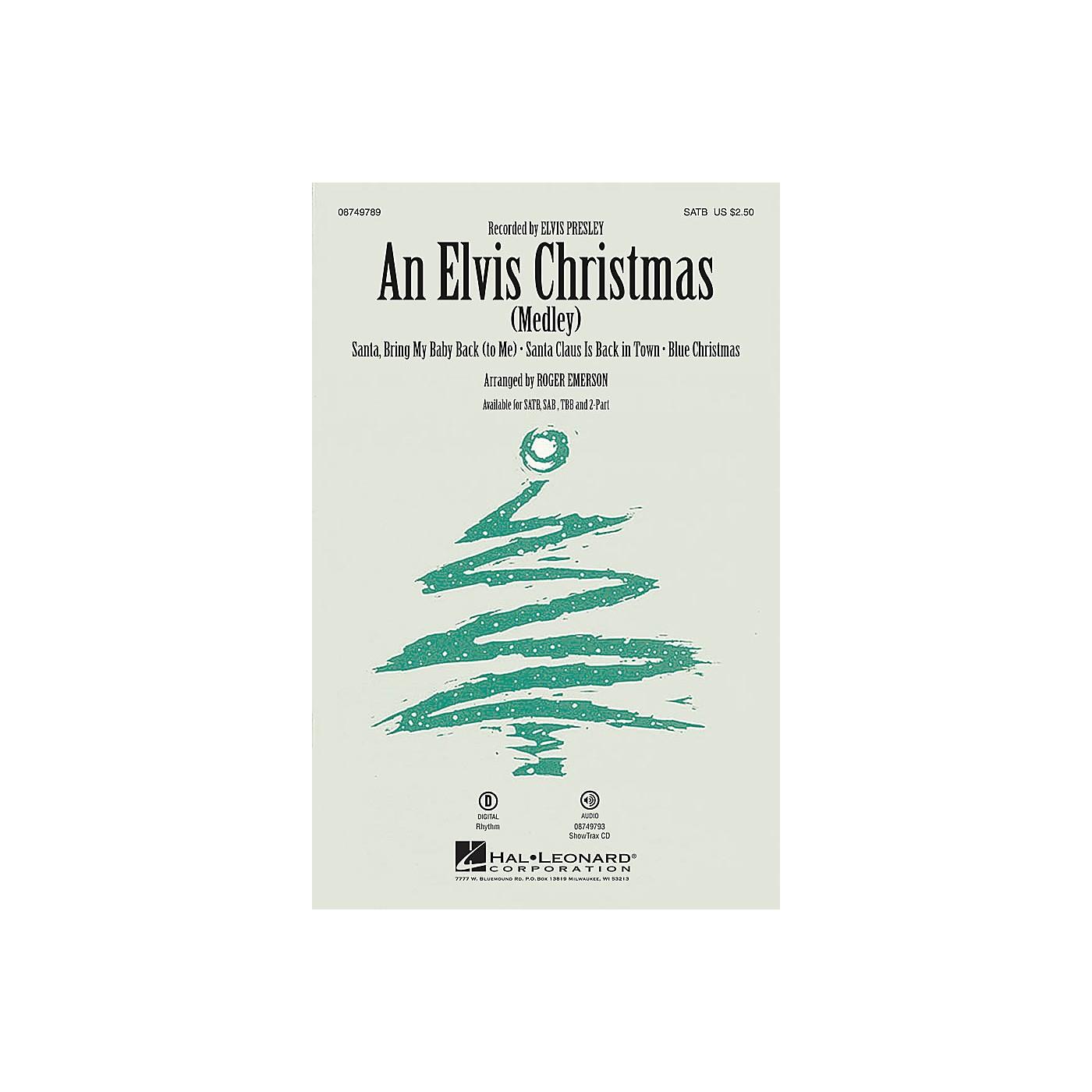 Hal Leonard An Elvis Christmas 2-Part by Elvis Presley Arranged by Roger Emerson thumbnail