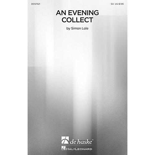 De Haske Music An Evening Collect SA composed by Simon Lole thumbnail