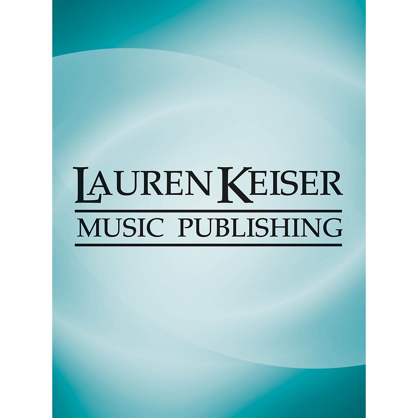 Lauren Keiser Music Publishing An Evening Thought LKM Music Series by David Baker thumbnail