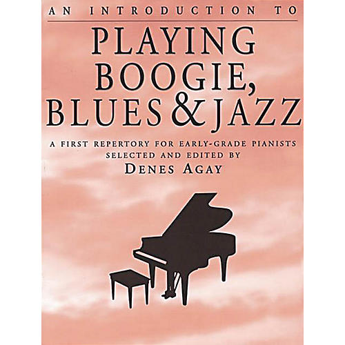 Yorktown Music Press An Introduction to Playing Boogie, Blues and Jazz Yorktown Series Softcover thumbnail