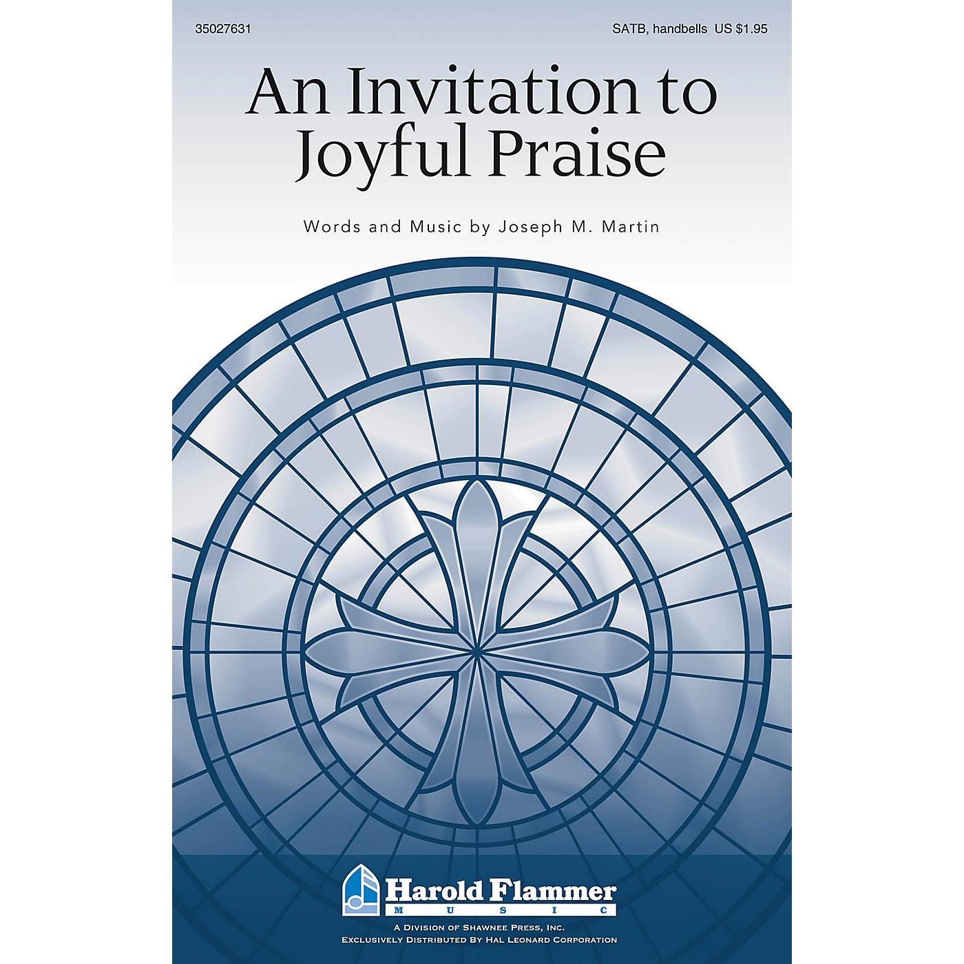 Shawnee Press An Invitation to Joyful Praise SATB composed by Joseph M. Martin thumbnail