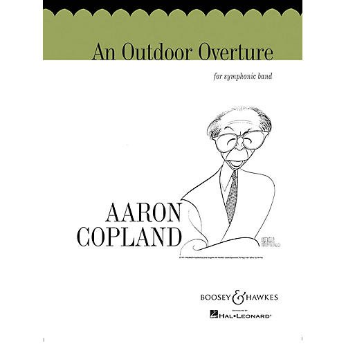 Boosey and Hawkes An Outdoor Overture (for Symphonic Band) Concert Band Composed by Aaron Copland thumbnail