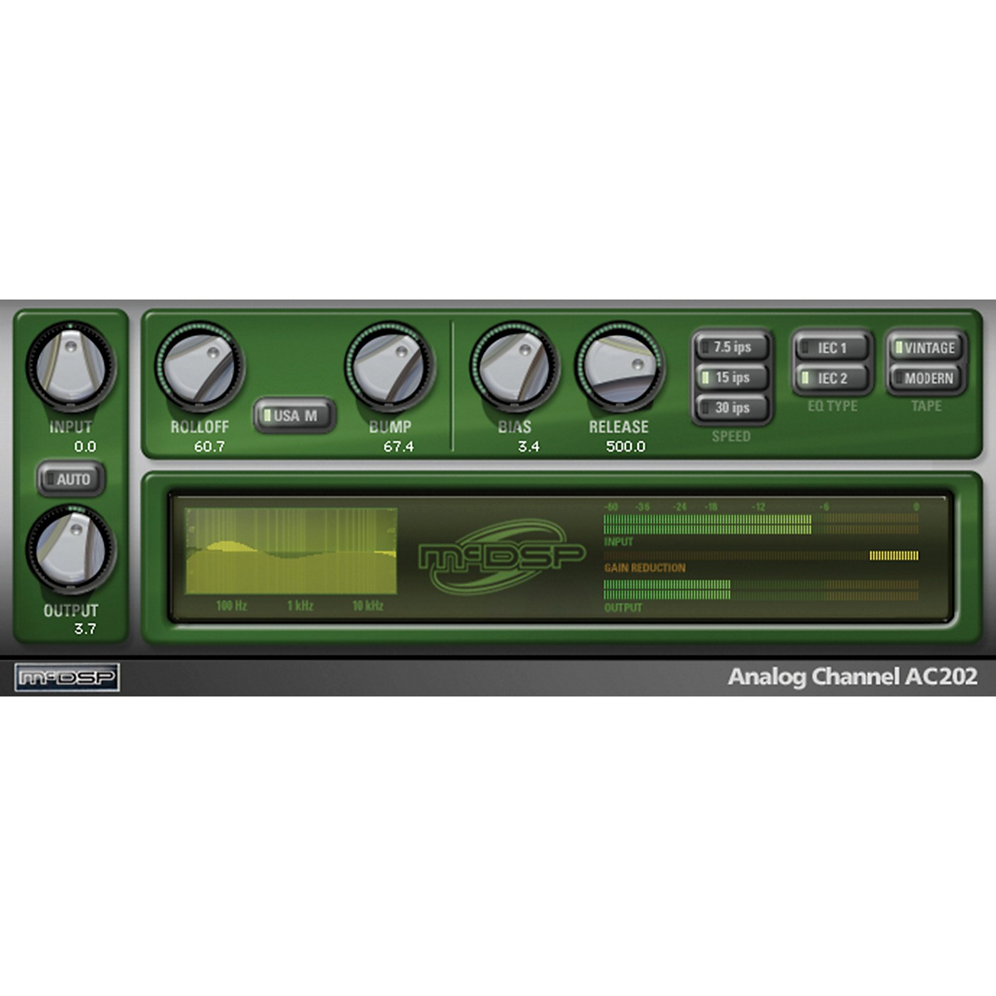 McDSP Analog Channel HD v6 (Software Download) thumbnail
