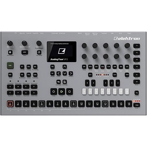 Elektron Analog Four MKII Tabletop Synthesizer thumbnail