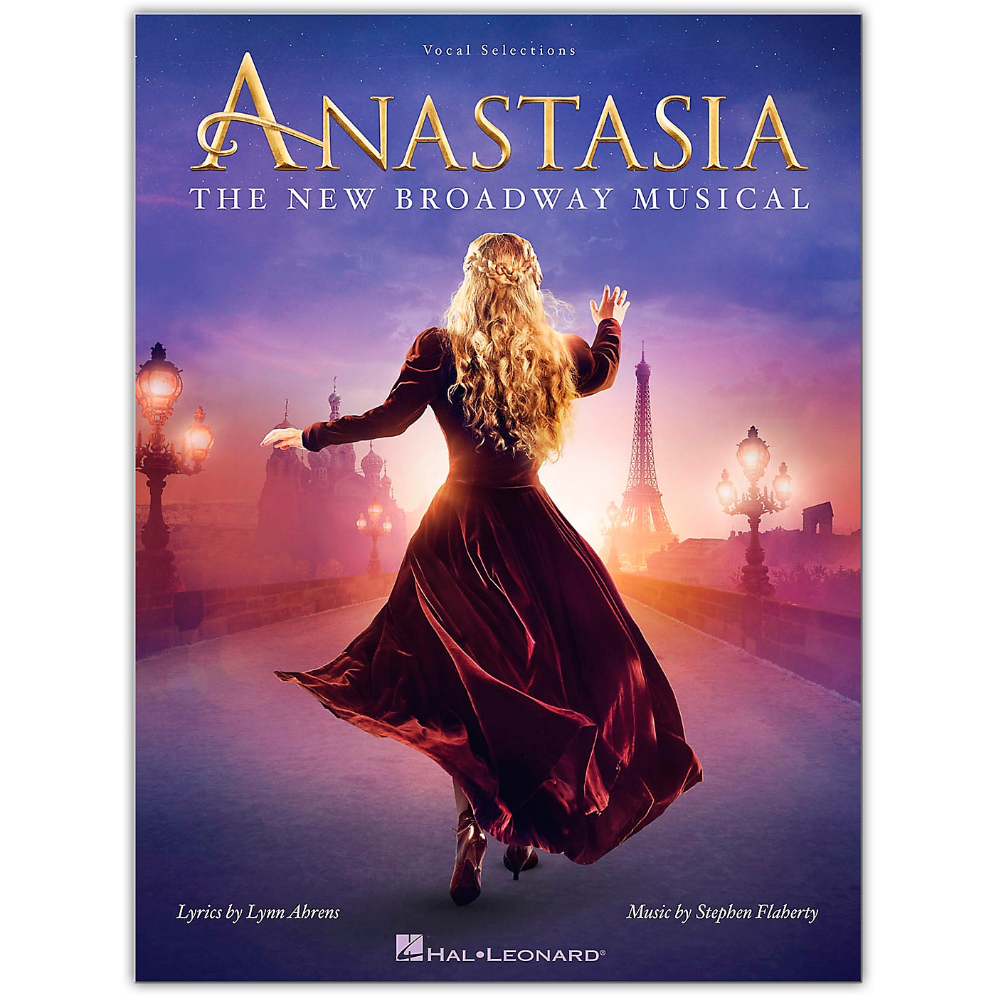 Hal Leonard Anastasia (The New Broadway Musical) Vocal Selections Series Softcover Written by Lynn Ahrens thumbnail