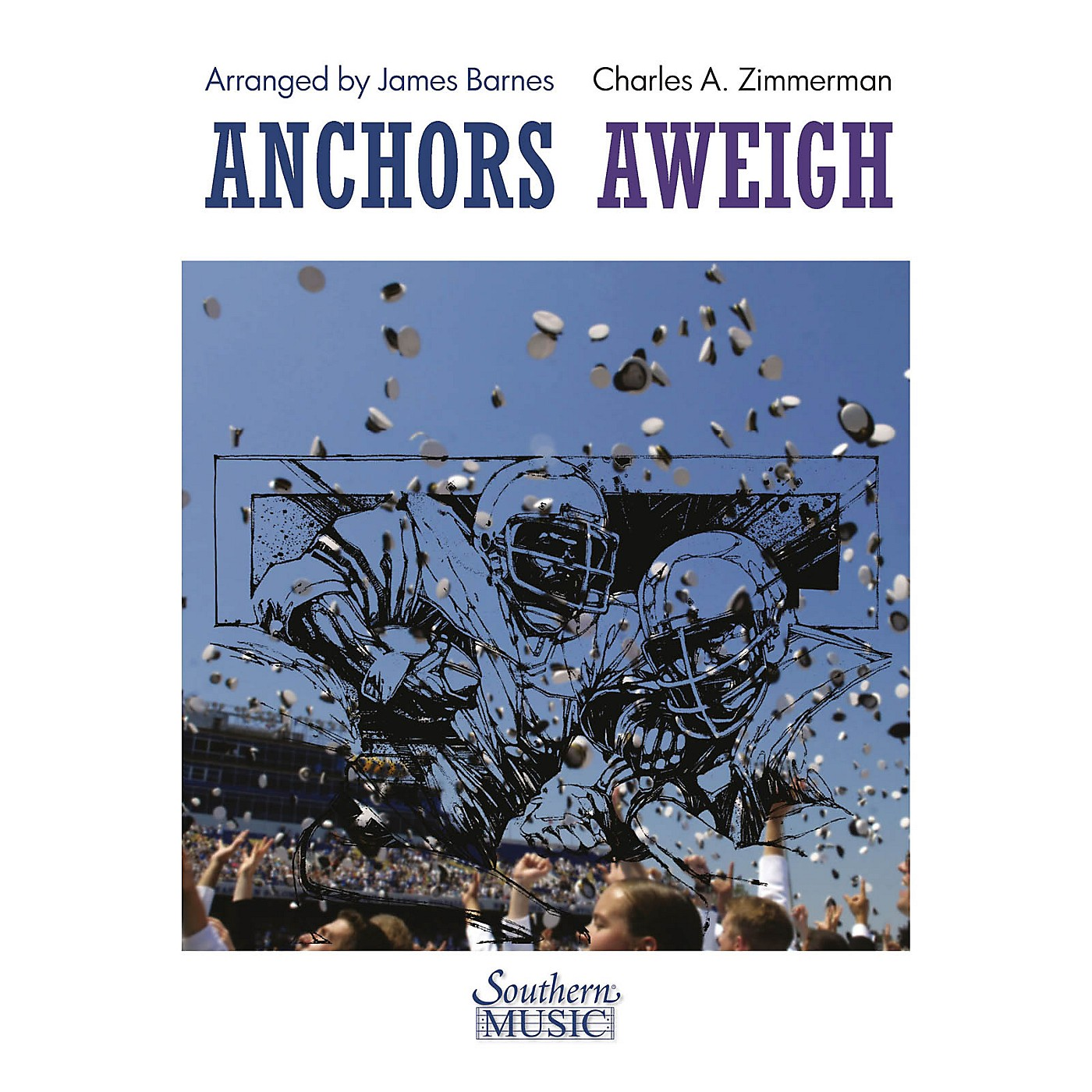 Southern Anchors Aweigh Concert Band Level 4 Arranged by James Barnes thumbnail