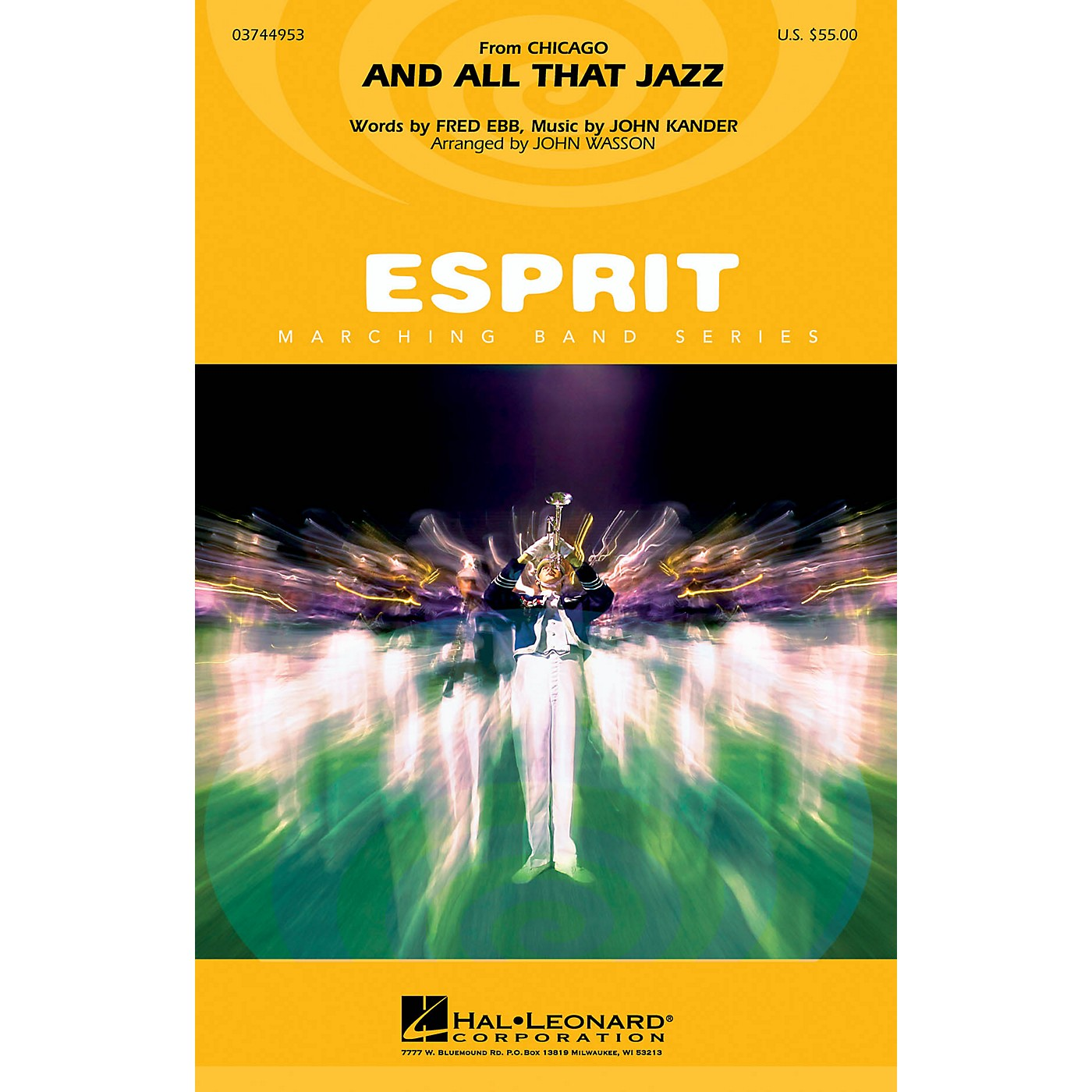 Hal Leonard And All That Jazz (from Chicago) Marching Band Level 3 Arranged by John Wasson thumbnail