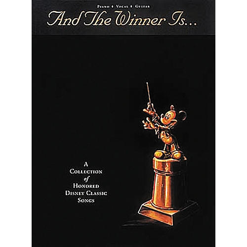 Hal Leonard And The Winner Is¦ Piano, Vocal, Guitar Songbook thumbnail
