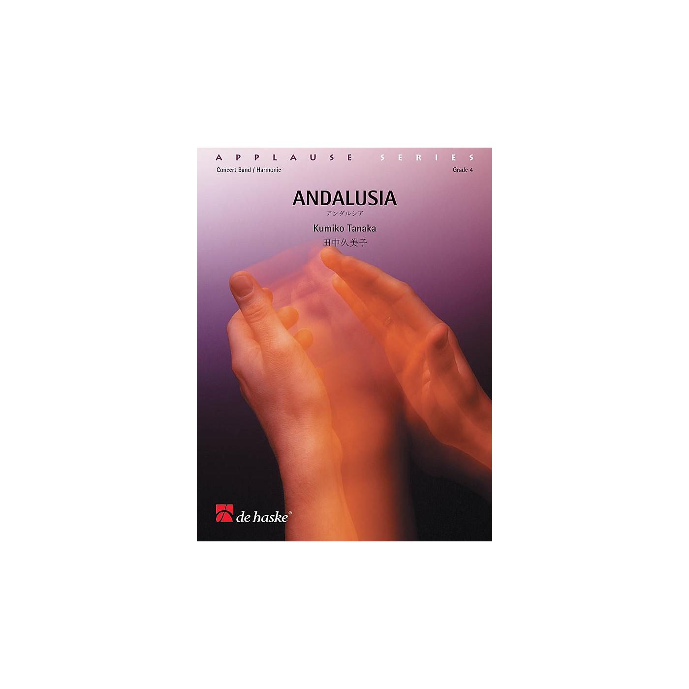 De Haske Music Andalusia Concert Band Level 3 Composed by Kumiko Tanaka thumbnail
