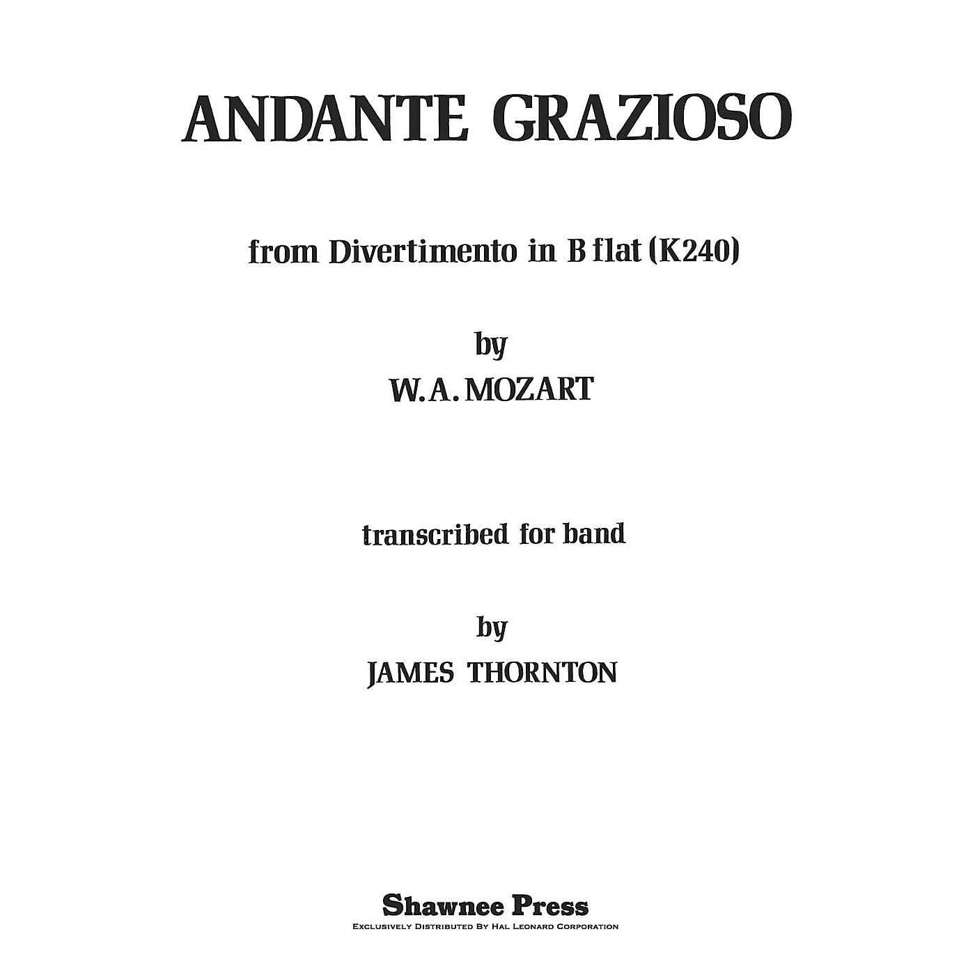 Shawnee Press Andante Grazioso Concert Band Level 2 1/2 Arranged by Thornton thumbnail