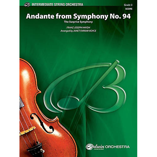Alfred Andante from Symphony No. 94 String Orchestra Grade 3 Set thumbnail